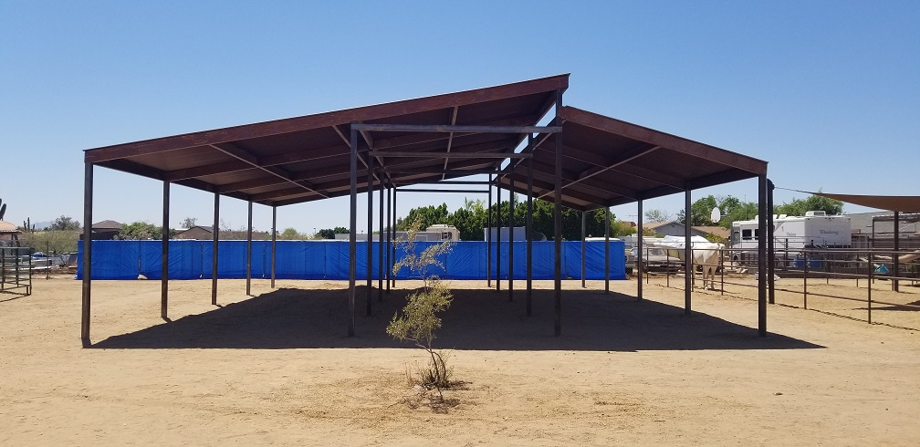 AZ Best Shade For Horses Installed