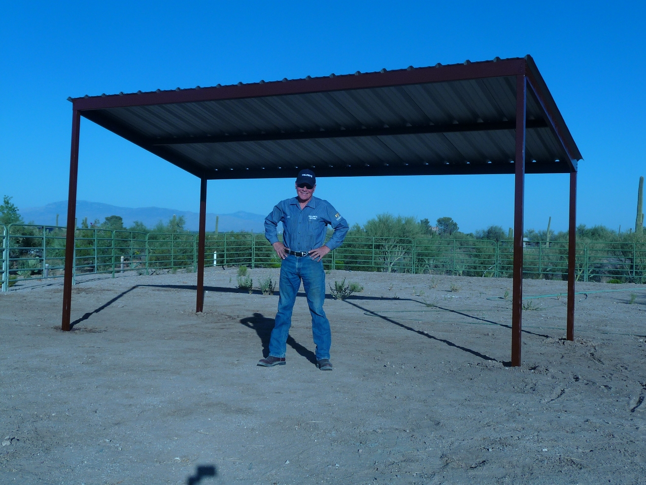 Arizona Horse and Livestock Shade For Sale