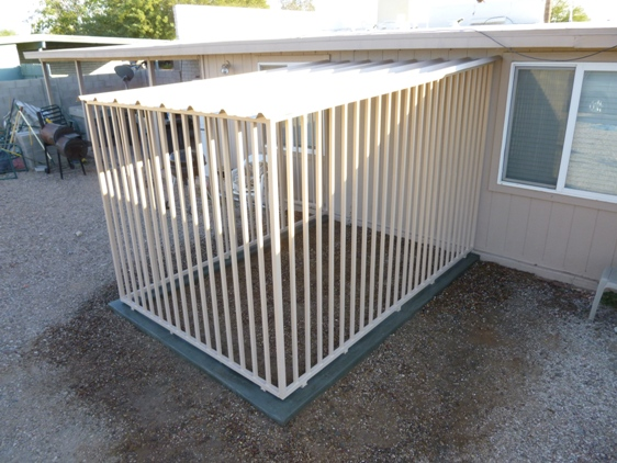 Attack Guard Dog Kennels for Sale in AZ.