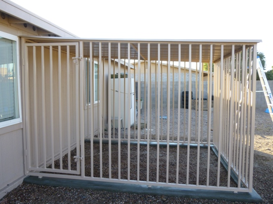 Attack Guard Dog Kennels Installed in AZ.