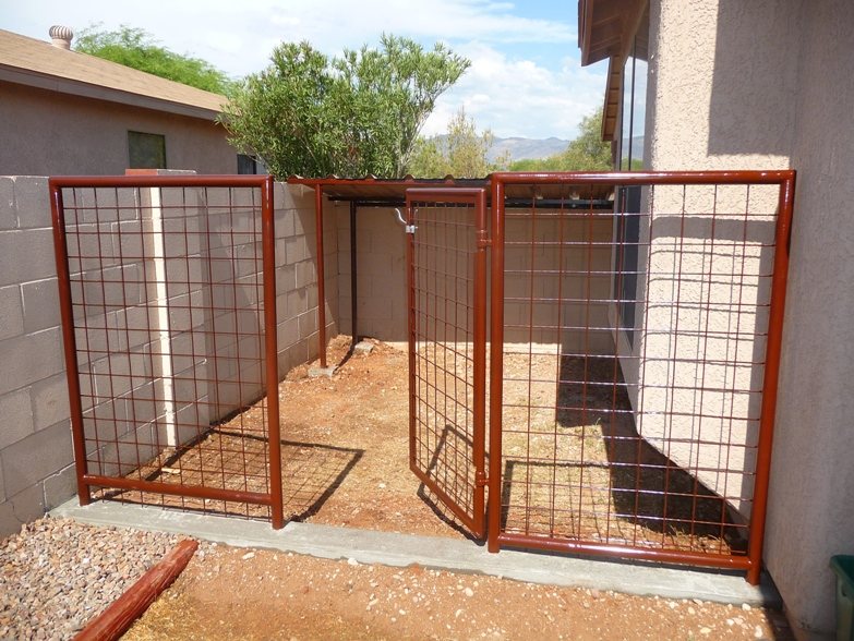 Arizona Low Cost Dog Runs Installed