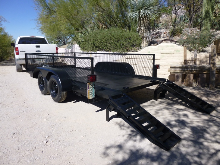 Custom Built Trailers For Sale In Arizona.