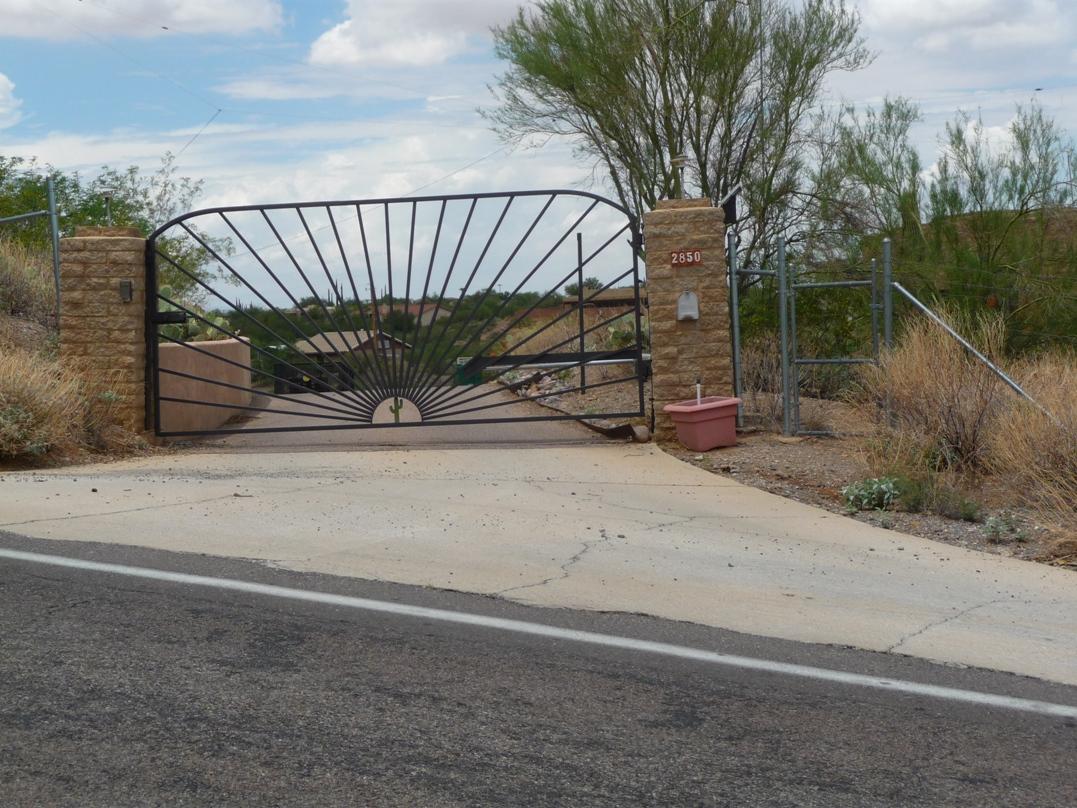Custom Wrought Iron Gates Installed In Arizona