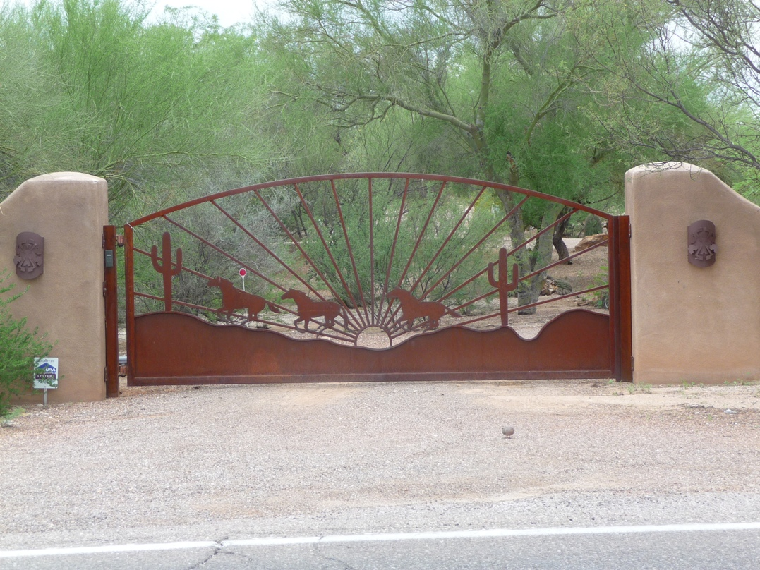 Southwest style gates for sale with FREE Installation!