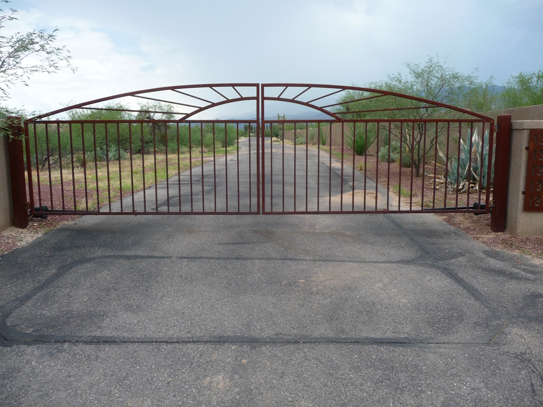 Installation of Wrought Iron Gates In Arizona