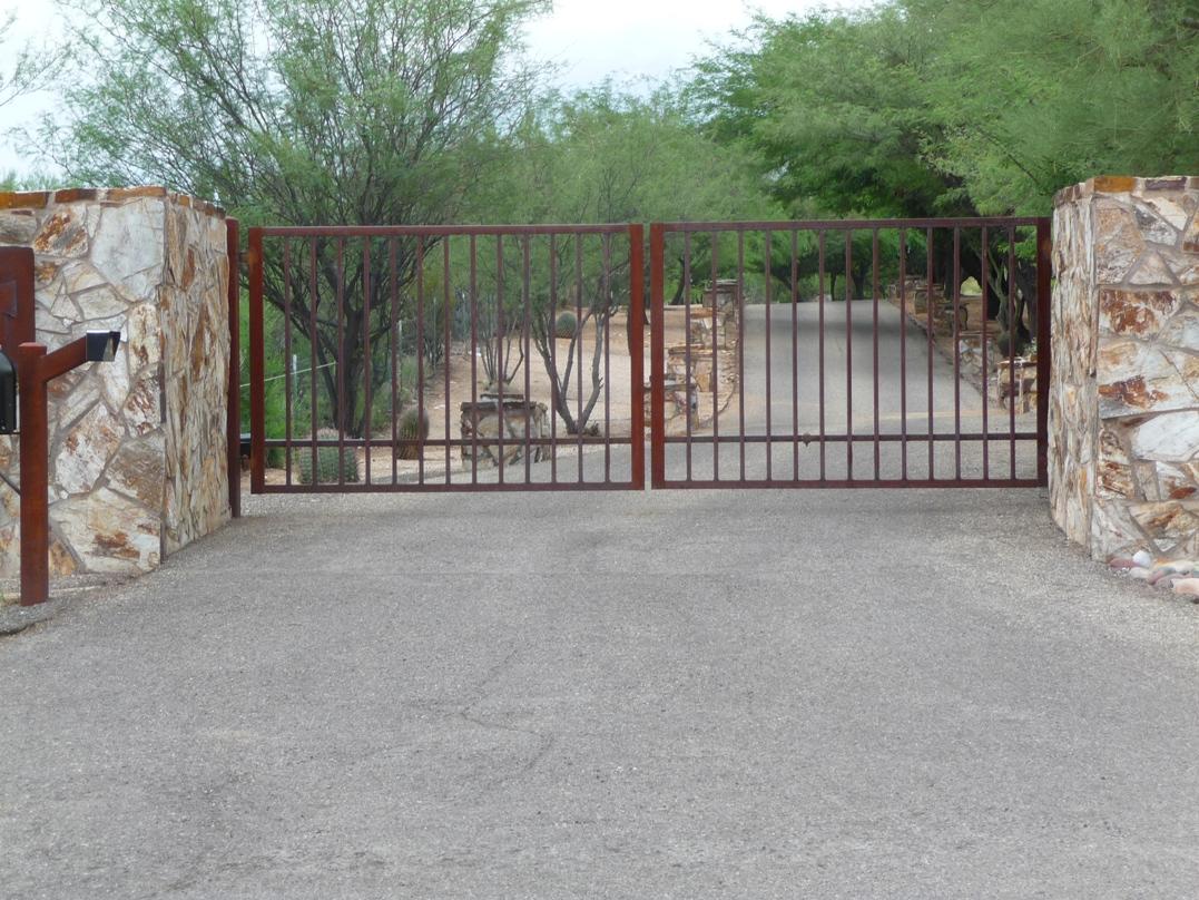 Gate opener custom gates