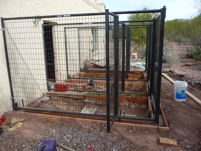 Foot X 10 Foot Exterior Dog Run Installed Starting At $1395 Each
