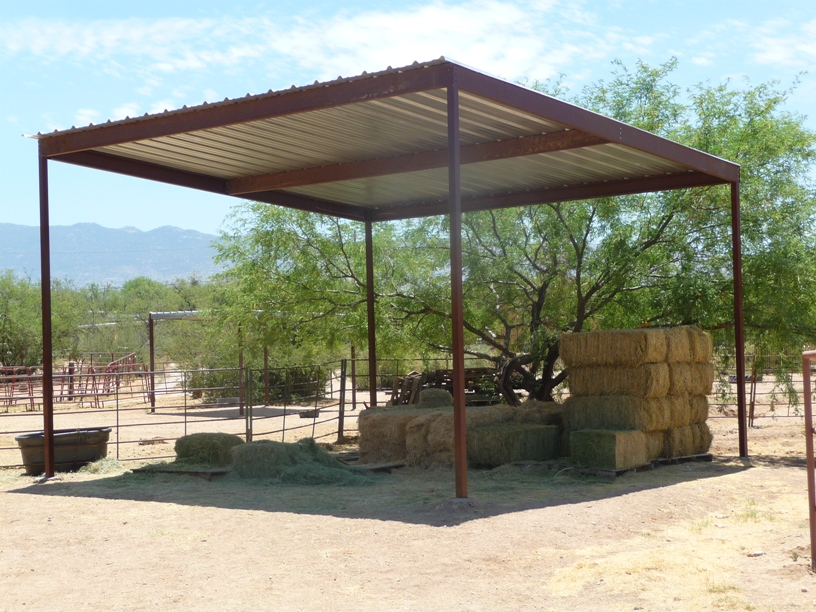 Hay Shade For Sale in Maicopa County AZ.