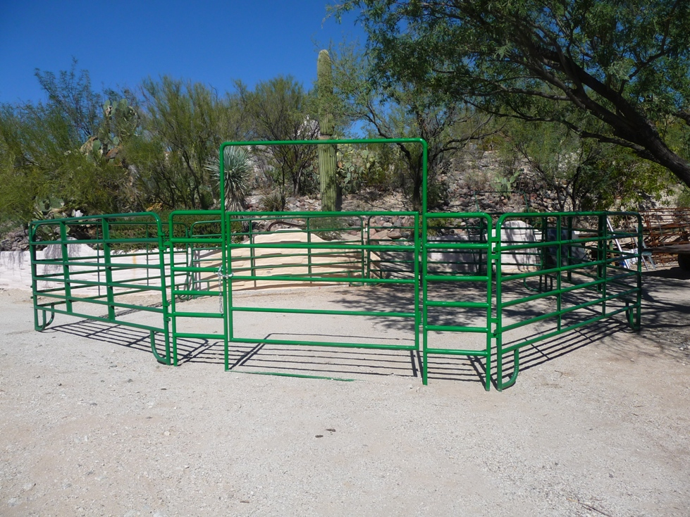 Portable Corral Systems For Horses : Az horse corrals for sale phoenix arizona portable corral