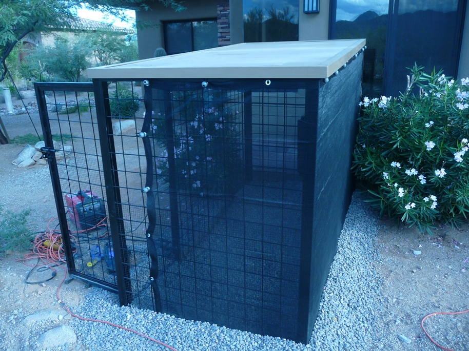 Small Dog Kennels in Phoenix AZ.
