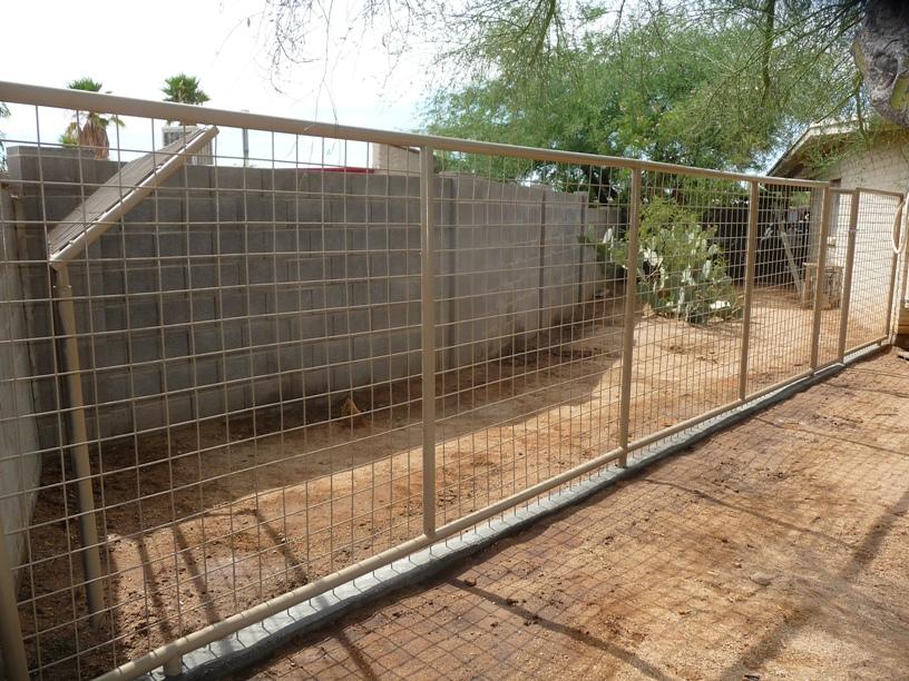 Dog Run Installation Company Phoenix AZ