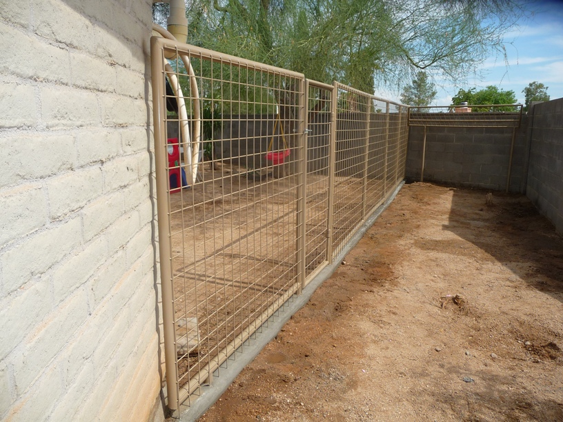 Small Dog Kennels Installed In Arizona
