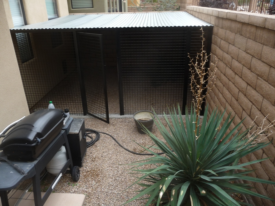 Dog Kennels For Condos and Townhouses For Sale In Tucson Arizona