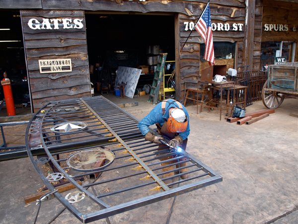 Custom Steel Gates For Sale