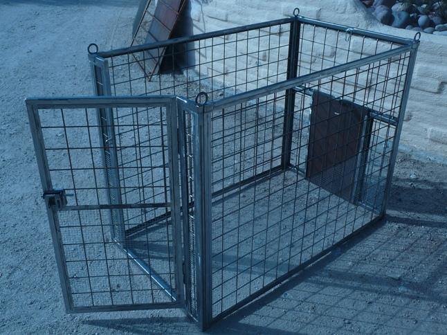 Custom Made Dog Kennels Installed